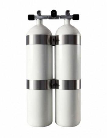 Dubbelset 12 liter concave DIR Style