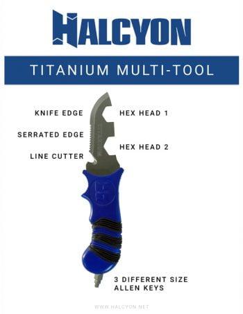 Halcyon Titanium Multi Tool